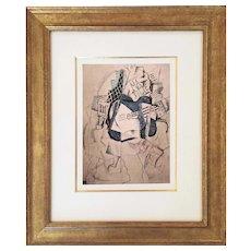 Ma jolie, 1912 after Picasso | 1955 | Pablo Picasso | Hand Colored Pochoir