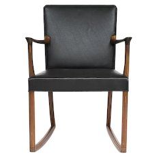 Rocking Chair in mahogny