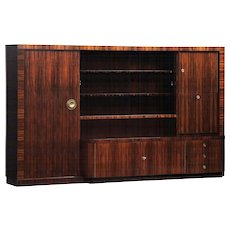 Modernist Bookcase/Bar