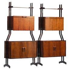 Pair of Dassi Cabinets/bookcases