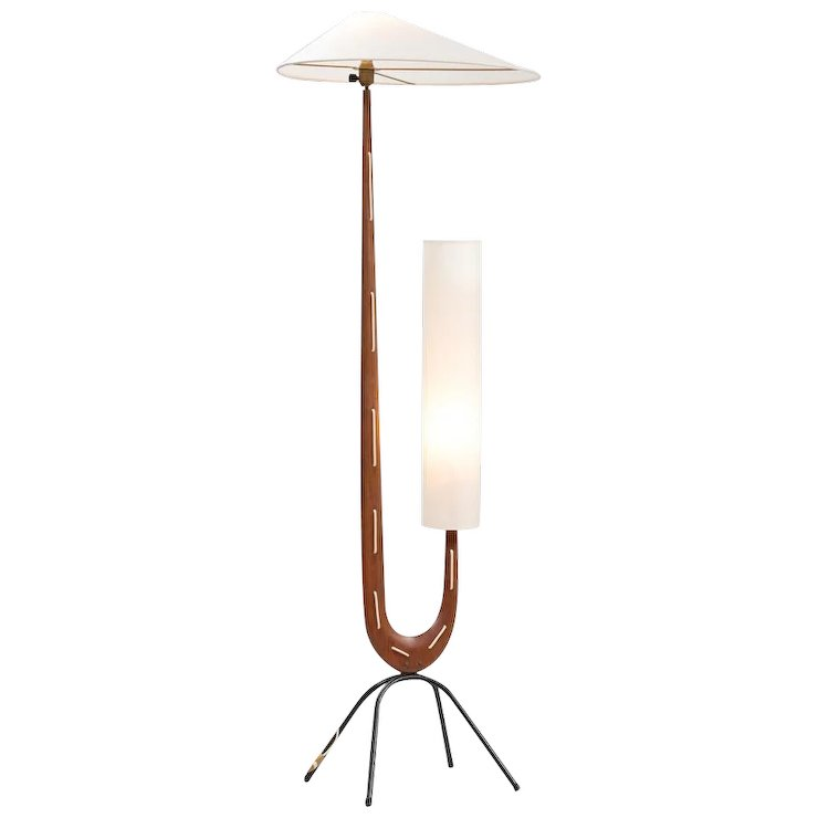 Rispal Sculptural Floor Lamp