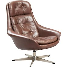 Henry Walter Klein Swivel Lounge Chair