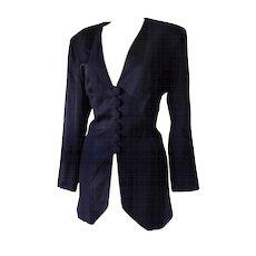 1970s Moschino Cheap & Chic black jacket