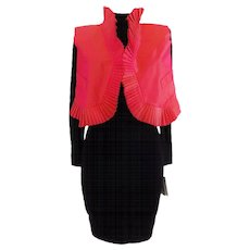 1970s Oaks by Gianfranco Ferre Gilet Dress NWOT