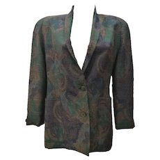 1980s Christian Dior Vintage Jacket