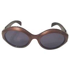 1980s Escada brown sunglasses