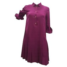 1980s Gucci Purple Dress