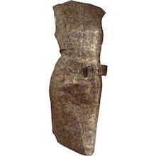 1980s Tailored Dress