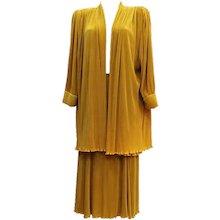 1980s Virginie Paris Skirt Suit
