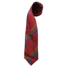 1980s Yves Saint Laurent multicolour tie