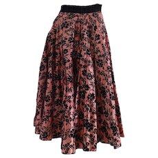 1980 Joe Davidson long skirt