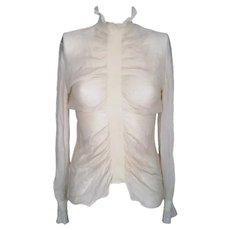 1990s Alexander McQueen White shirt