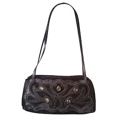 1990s Braccialini Brown shoulder bag