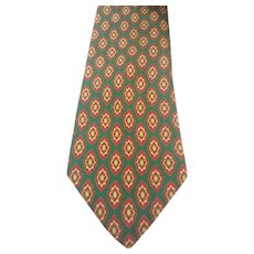 1990s Christian Dior green tie