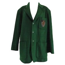 1990s Iceberg Green Wool Pluto Coat