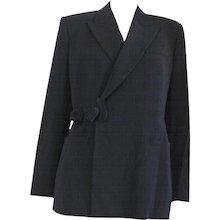 1997 - 1998 Jean Paul Gaultier Black Wool Jacket
