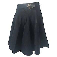 2000s Dolce & Gabbana black skirt