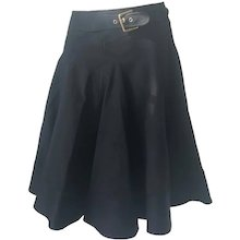 2000s Dolce & Gabbana black skirt