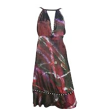 2000s Fendi multicolour dress