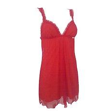 2002 John Galliano red beachwear NWOT