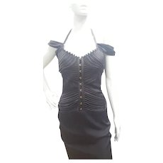 2003s Gucci Iconic antracite Dress by Tom Ford