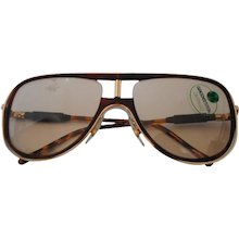 Alitalia Brown tortoise Sunglasses