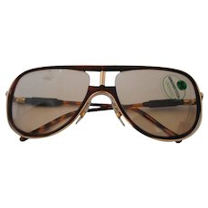 Alitalia Brown tortoise Sunglasses
