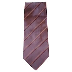 Boss light purple vintage Tie