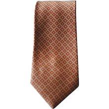 Bulgari Pink Orange Limited Edition Tie