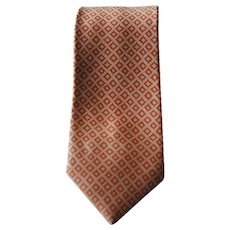 Bulgari Pink Orange Limited Edition Tie