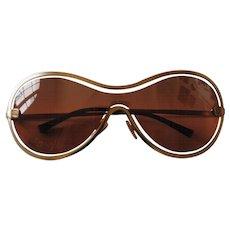 Chanel Peach Gold Sunglasses