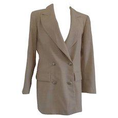 Christian Dior Cordonnes Wool Jacket