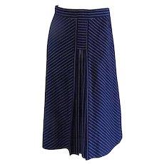 Creazioni Style Blu long skirt