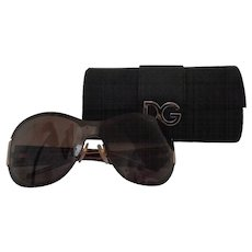 Dolce & Gabbana Leopard Sunglasses still with box