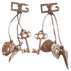 Dolce & Gabbana Silver tone Earrings