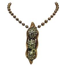 Dsquared2 Gold Tone pendant necklace