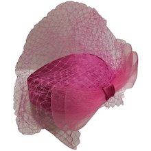 Fascinator Fucsia Hat