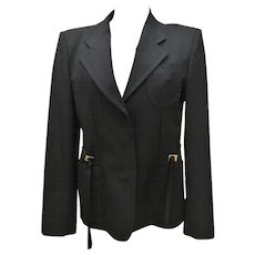 Fendi Black Vintage Jacket