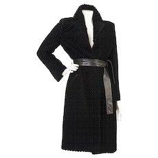 1990s Gianni Versace Haute Couture Vintage Coat