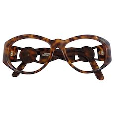 Gianni Versace Tortoise Frame