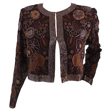 Grazia Bagnaresi brown jacket