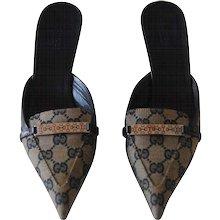 Gucci Monogram GG Sandals
