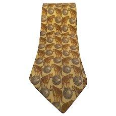 Gucci Silk vintage Tie