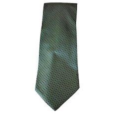 Hermes Green Tie