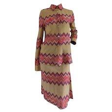 Missoni Multicolour Skirt Suit