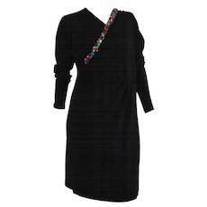 Missoni black multicolours swarovski Dress