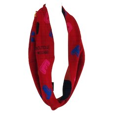 Moschino Boutique Wool Scarf NWOT