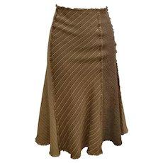 Moschino Brown Kamel Skirt
