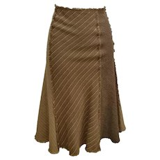 Moschino Brown Kamel Skirt
