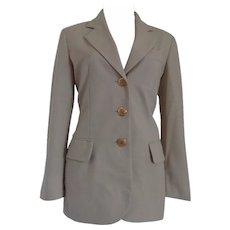 Moschino Cheap & Chic beije Wool Jacket